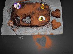 Coisas simples são a receita ...: Brownie de feijão sem açúcar