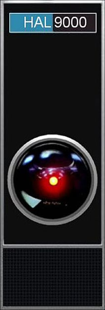 HAL 9000 Hal/ Yes Dave?  Dave/ open the pod bay door, Hal.  Hal/ I'm sorry dave but I can not do that.