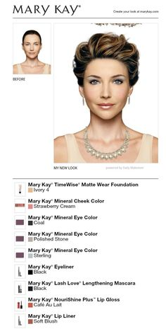 Mary Kay  the before and after look.more inf. marykaycosmetics.taveras@gmail.com or 646 407 1444