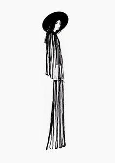 Fashion Design Sketches 675821487804957397 - 3 Source by eliane_philippe Illustration Techniques, Illustration Mode, Fashion Illustration Sketches, Fashion Design Sketches, Fashion Figures, Watercolor Fashion, Hippie Art, Designs To Draw, Fashion Art