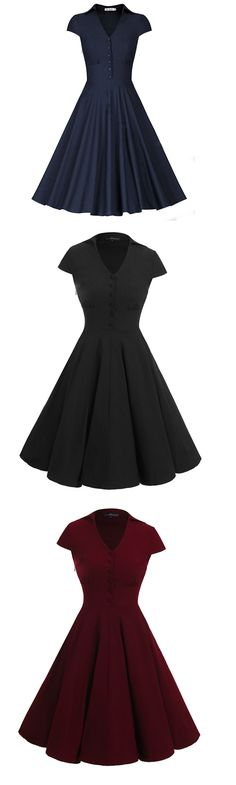 Basic Apparel Klänning Figure Dress Black