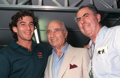 Senna, Fangio, Brabham - League of extraordinary gentlemen