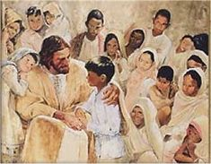 I Love You So Very Much, Little One. I Love You, too, Jesus. - 'Come Unto Me' by Richard Hook
