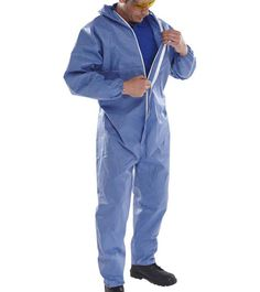 Click Red Disposable CE Type 5 and 6 Coveralls Economy 20 Pack