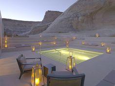 Luxury desert resort Amangiri, Utah, US
