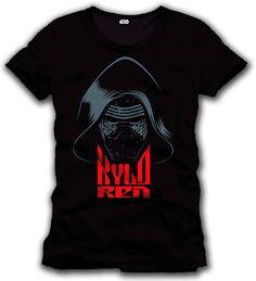 Camiseta Kylo Ren Mask. Star Wars Episodio VII Estupenda camiseta con el título Kylo Ren Mask, perteneciente al film Star Wars Episodio VII: El Despertar de la Fuerza, 100% oficial, licenciada y fabricada en material 100% algodón.