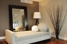 Accent Wall Colors | so this client has a living room where three of the walls are painted ...