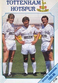 """""""Chris Waddle Steve Perryman and Paul Allen on the cover of Spurs official handbook from Season Tottenham Wallpaper, Chris Waddle, Tottenham Hotspur Players, Tottenham Hotspur Football, Laws Of The Game, Association Football, Most Popular Sports, Football Kits, North London"""