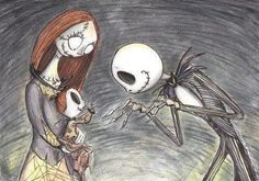 Just how cute is this? Honestly! =D Tim Burton's The Nightmare Before Christmas
