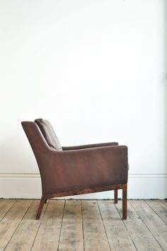 Leather chair - Forest London.