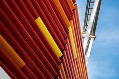 O Aerobrise HunterDouglas® é um produto que auxilia no controle solar do projeto…