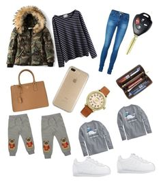 """go to school whith twins ! 👶👶"" by gfabianag ❤ liked on Polyvore featuring SAM., WithChic, Vero Moda, Prada, Speck, Shinola, Louis Vuitton, Vineyard Vines and Mini Rodini"
