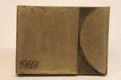 Class of 1969 bronze time capsule cover