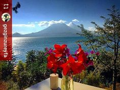 #Follow @gezginzureyfa: Good morning from paradise #Lake #Atitlan #Guatemala #ILoveAtitlan #AmoAtitlan #Travel #Volcano #LakeAtitlan #LagoAtitlan #CentralAmerica http://OkAtitlan.com