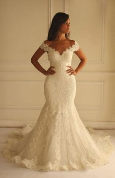 dress wedding gown on sale at reasonable prices, buy Vintage Lace Mermaid Wedding Dresses 2016 vestido de noiva Sweetheart Fully Appliques Court Train Bridal Gowns robe de mariage from mobile site on Aliexpress Now! Perfect Wedding Dress, Dream Wedding Dresses, Bridal Dresses, Wedding Gowns, Bridesmaid Dresses, Prom Dresses, Wedding Ceremony, Ivory Wedding, Tulle Wedding
