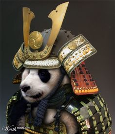 Armored Animals - Samurai Panda  :D