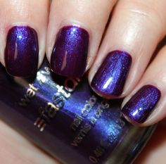 love this color: Vampy Varnish - WetnWild Sea Witch