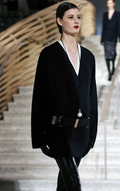 Hermes Fall 2011 collection has some really sleek shit ... like this entire outfit. #Fashion #Hermes #FW2011
