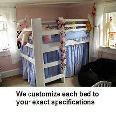 1000 Images About Low Loft Beds On Pinterest Low Loft