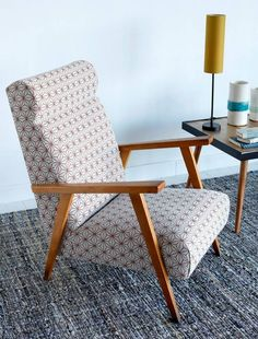 retapisser un siège avec un tissu graphique