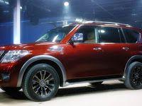 2017 Nissan Armada Platinum Changes