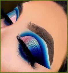 Makeup Is Life, Makeup Eye Looks, Beautiful Eye Makeup, Pretty Makeup, Face Paint Makeup, Eye Makeup Art, Skin Makeup, Eyeshadow Makeup, Maquillage Yeux Cut Crease