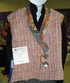 Handwoven vest by foothillfibers, via Flickr