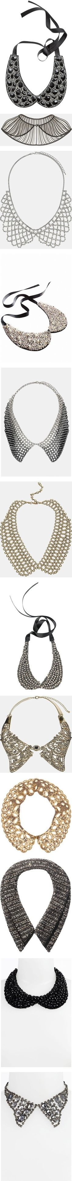 """""""NORDSTROM: Embellished Collars"""" by nordstrom on Polyvore by vera"""