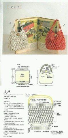 Crochet Shell Stitch, Crochet Stitches, Crochet Patterns, Crochet Coin Purse, Crochet Backpack, Crochet Diy, Crochet Crafts, Crochet Bags, Crochet Pencil Case