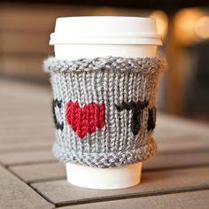How to Knit a Fabulous Tuts  Coffee Cozy for Fall — Tuts
