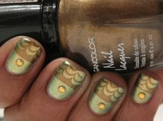 @Bundle Monster stamping over opi just spotted the lizard @OPI Nail