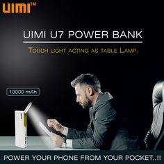 #UIMI #U7 #Powerbank Light up your night like a day with UIMI Power Bank . For more information, Visit: http://bit.ly/2ctfr4j