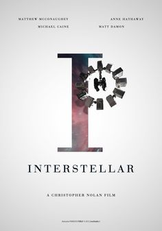 I - Interstellar - A Christopher Nolan film - Illustration Francesco Turlà #movieposter