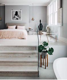 """14 mil curtidas, 69 comentários - ARQUITETURA E DESIGN ✨ (@decorcriative) no Instagram: """"Que delicia de quarto! Todo branquinho com uma pegada escandinavo. Vocês gostam desse estilo? …"""""""
