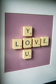 Hahaha totally should make this for my scrabble loving mommy lol