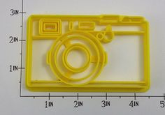 Retro Camera Cookie Cutter by WarpZone on Etsy, $5.50