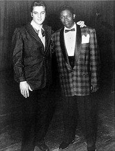 Elvis and B.B. King .