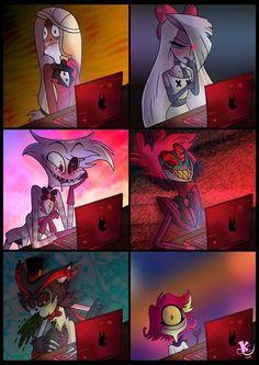 Read Alastor from the story fotos de Alastor y memes y ship de algunos personajes de hazbin hotel by (Charlie princess) with reads. Monster Hotel, Hazbin Hotel Angel Dust, H Hotel, Hotel Trivago, Ange Demon, Vivziepop Hazbin Hotel, Cute Gay, Furry Art, Cartoon Art