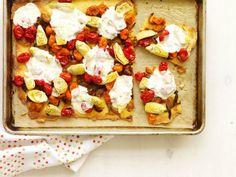 Gluten-Free Roasted Tomato Pizza. #recipe #glutenfree