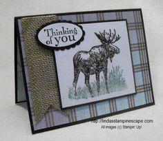 Stampin' Up! - Walk on the Wild Side stamp set /   http://lindasstampinescape.com