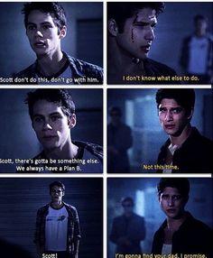 Dylan O'Brien (Stiles) , Tyler Posey (Scott) , & Gideon Emery (Deucalion) - Teen Wolf