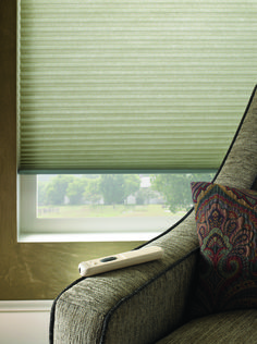 Cellular shades, also known as honeycomb shades, are durable and easy to maintain. Motorized Blinds, Honeycomb Shades, Cellular Shades, Custom Window Treatments, Shades Blinds, Custom Windows, Classic House, Window Coverings, Christmas Lights