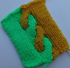 Двухцветный жгут