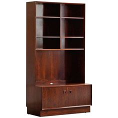 Danish Modern Rosewood Cabinet by Brouer