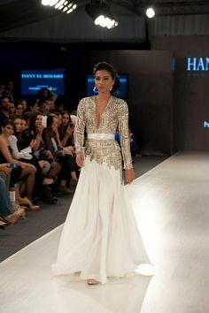 Hany El Behairy Showcases Glamorous Collection at Amman Fashion Week | Arabia Weddings
