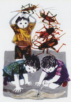 Maria_Keil_ilustração_livro_de_Marianinha_1967.jpg (349×500)