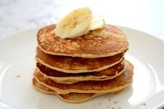 Banana Stuffed Pancakes