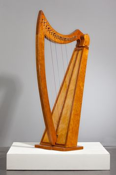 Celtic Lap Harp by Joong Han Bae.  University of the Arts. Category: Wood