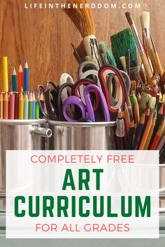 Free Art Curriculum for Kids - Life in the Nerddom