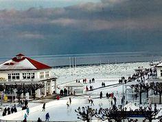 Kolejny zimowy dzień w Sopocie